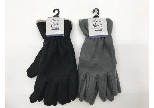 Men's fleece glove plain