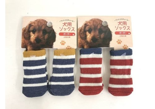 Pet cold protection socks