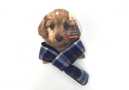 Pet cold protection fleece muffler