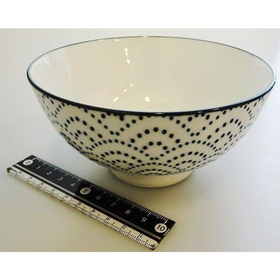 Blue wave tea cup L-1