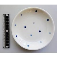 Polka dot blue 4.0 dish