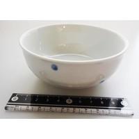 Polka dot blue small bowl S
