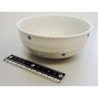 Polka dot blue small bowl M