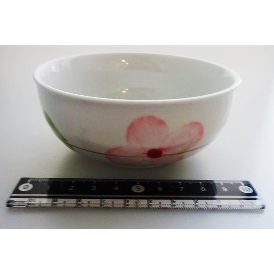 Flower pattern small bowl S-1