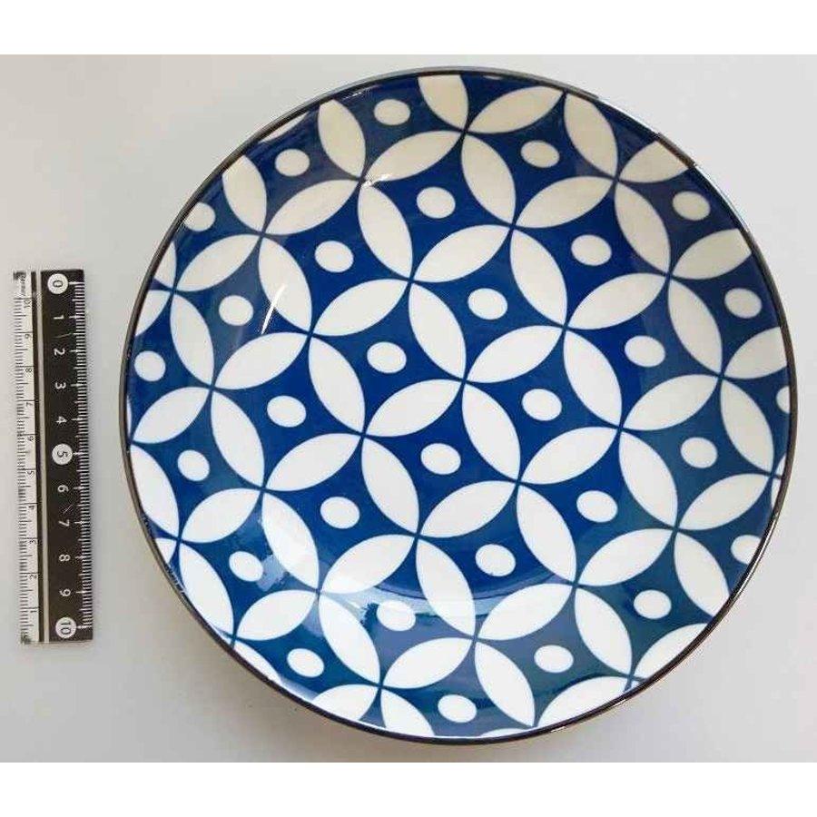 Cloisonne ware 5.0 shallow bowl-1