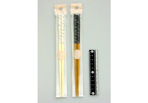 Town motif chopsticks 19.5cm