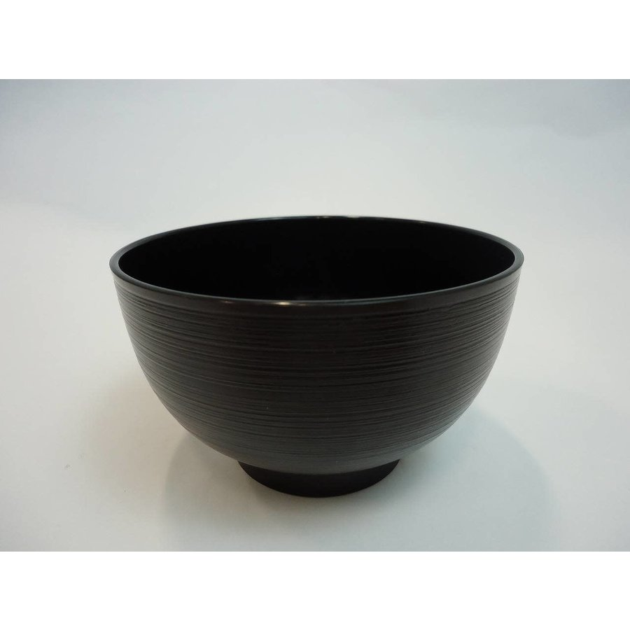 Thin line bowl black: good for microwave-1