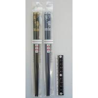 Chopsticks 22.5cm Fujisan the wind god, Raijin the thunder god