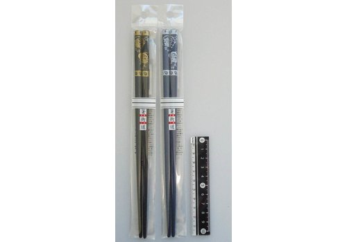 Chopsticks 22.5cm Fujisan the wind god, Raijin the thunder god