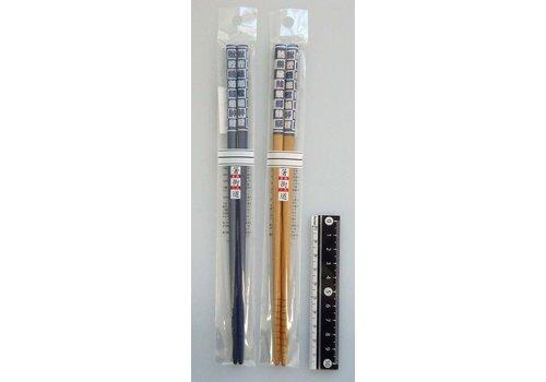 Chopsticks 22.5cm sushi kanji
