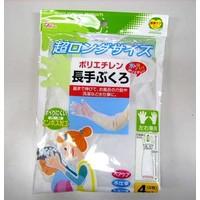 Polyethylene long gloves 4p