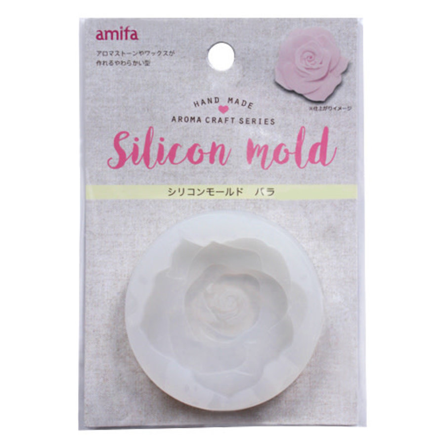 Aroma Craft siliconen mal - roos-1