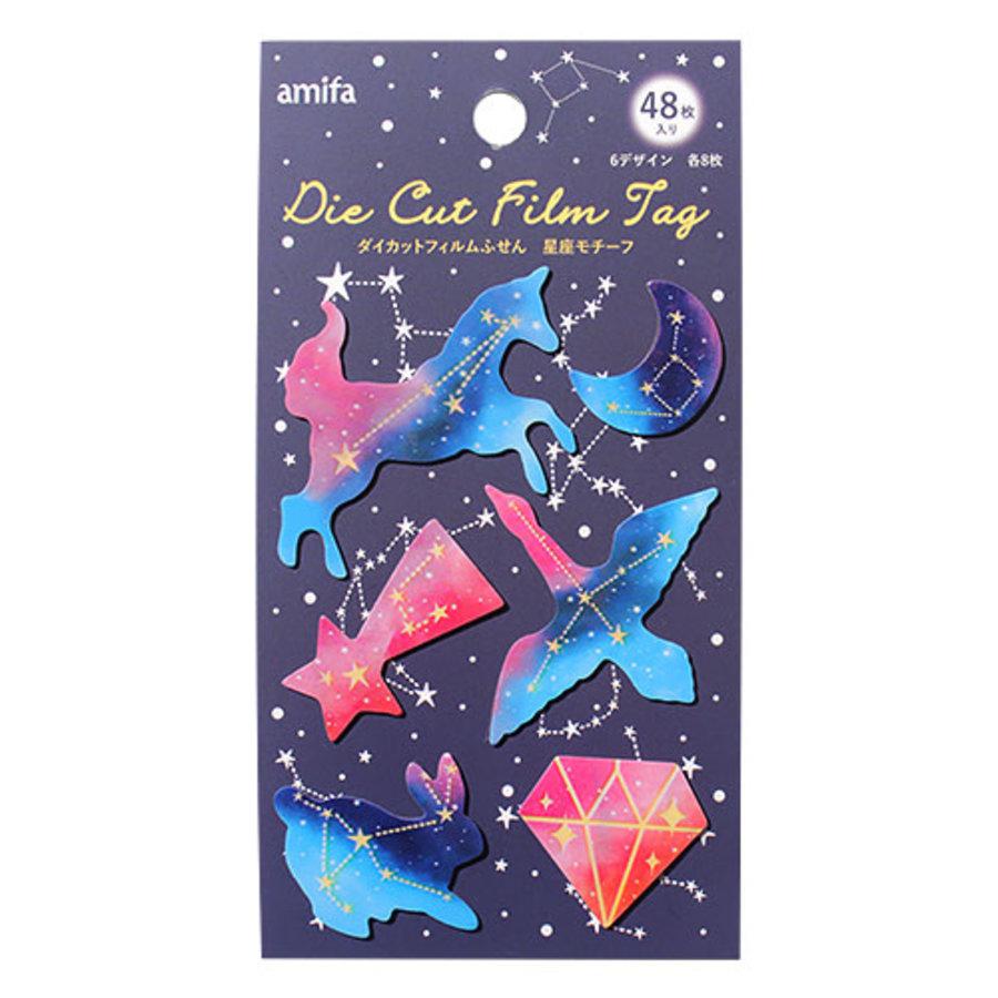 Gestanste stickers, sterrenbeelden - 48 stickers-1