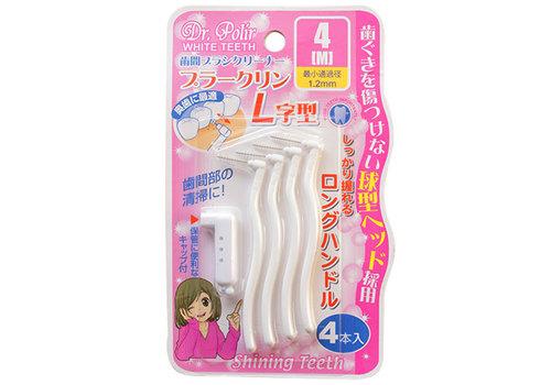 DP dental brush L type M 4p