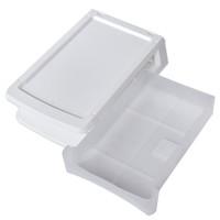 thumb-Plastic drawer, vertical, white-2