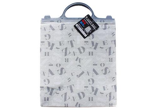 Cooler and warmer bag, large, alphabet