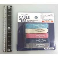 ?Cable tie 5p slim smoky color
