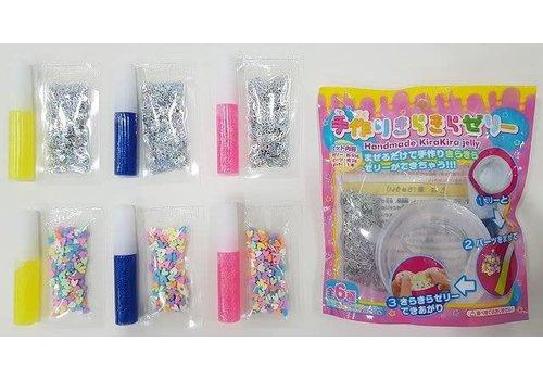 Handmade glitter jelly