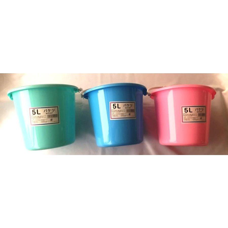 Bucket 5L color assort : PB-1