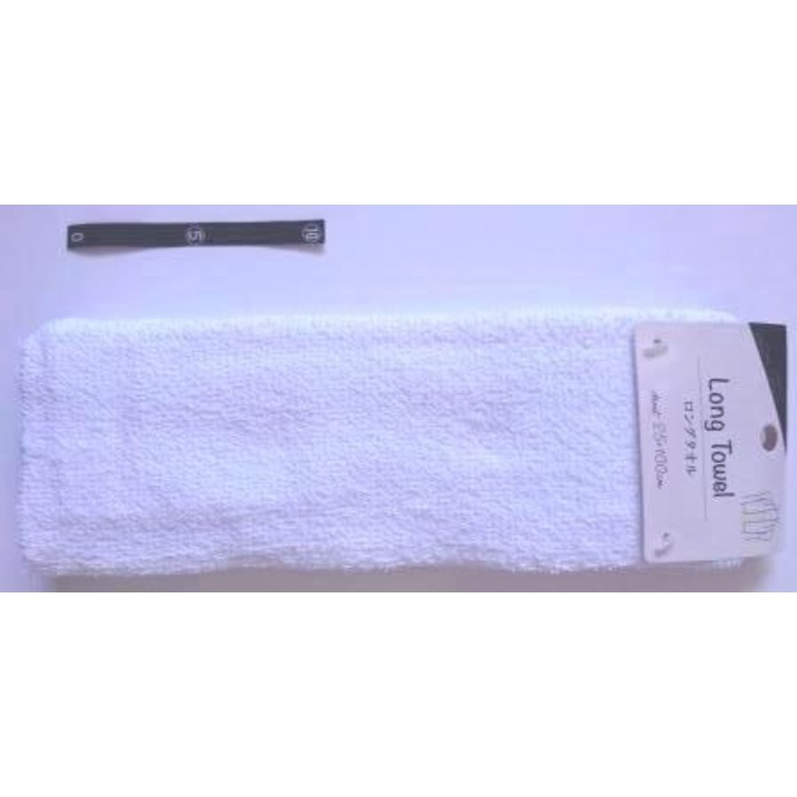 Long towel WH with header : PB-1