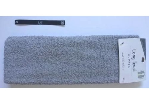 Long towel GY with header : PB