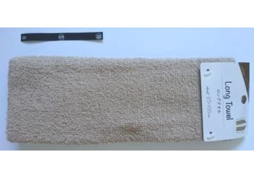 Long towel BR with header : PB