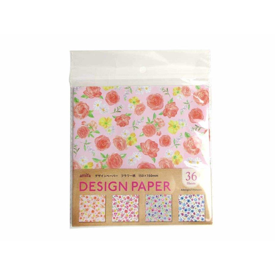 Design paper 36P flower-1