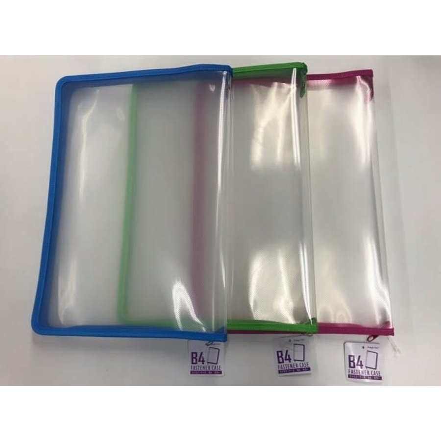 Fastener case B4 blue/pink/green-1