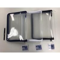 Fastener case A5 white/black/navy