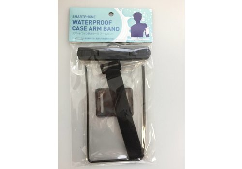 Smartphone water proof case arm band