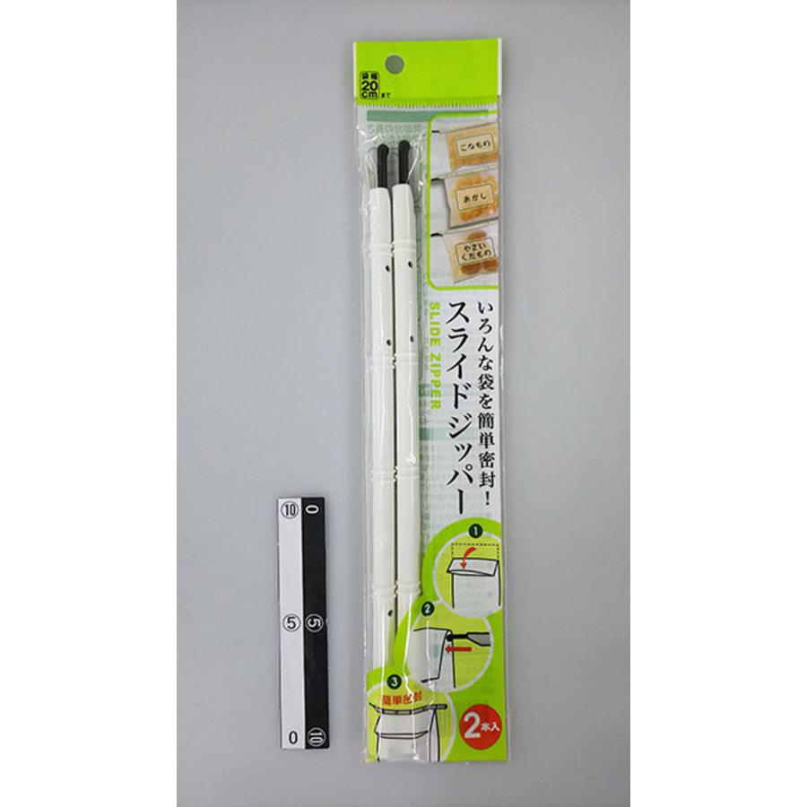 Easy vacuum packing, slide zipper 2p-1