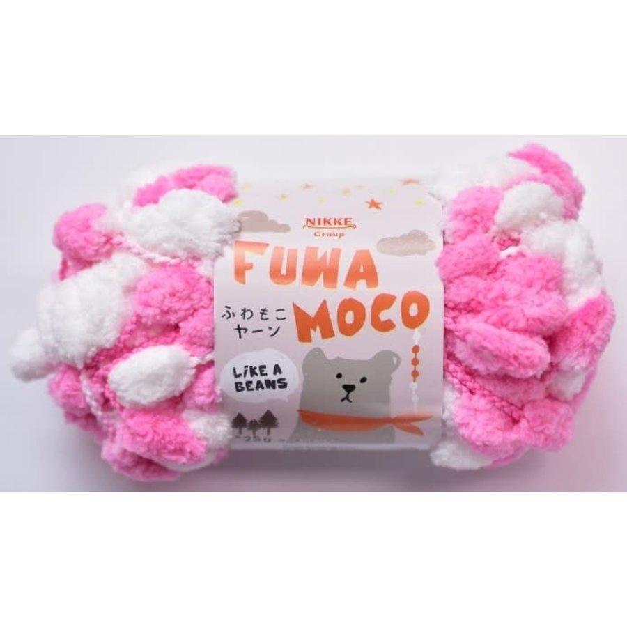 Fluffy yarn salmon pink-1