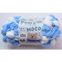 Fluffy yarn ice blue
