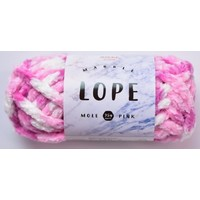 Marble rope mall pink
