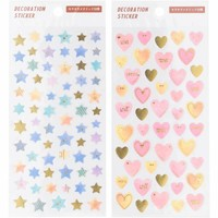 Decoration seal star&heart