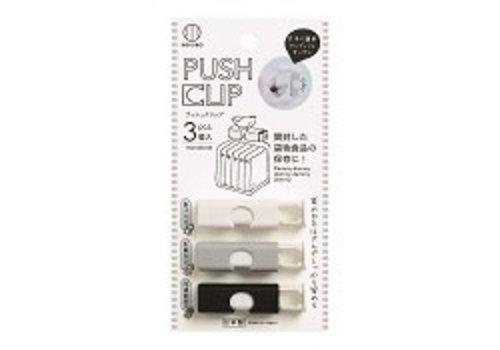 Monotone bush clip 3p