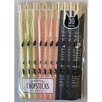 Aspen Genroku chopsticks 30p cat