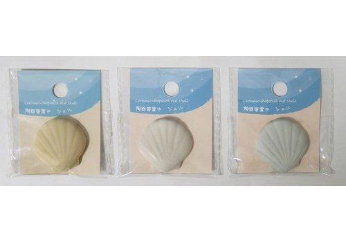 Ceramic chopsticks rest shell