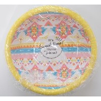 Paper bowl Ortega pattern 15cm 6p