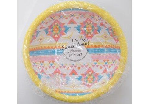 ?Paper bowl Ortega pattern 15cm 6p
