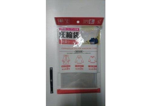 Vacuum bag for cloths case