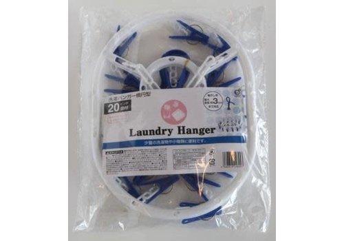 Laundry hanger oval W x B 20p