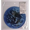 Die-cut mouse pad earth