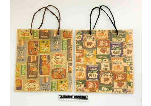 Paper bag vintage label