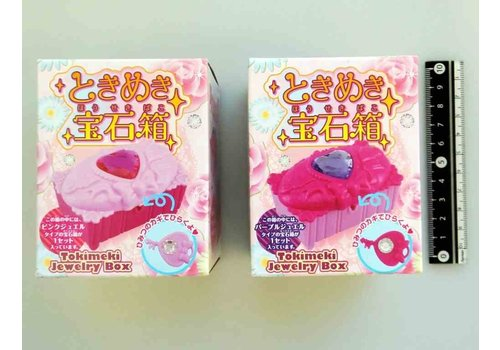 Heart motif Jewell box toy