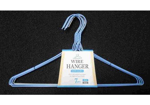 ?Wire hanger 7p bl/gy : PB