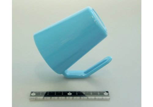 Dry face wash cup blue : PB
