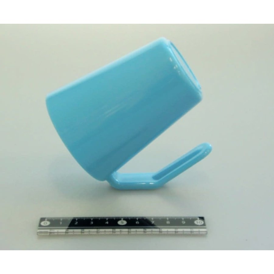 Dry face wash cup blue : PB-1