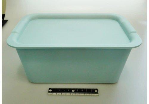 Plain box M set light blue