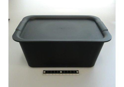 Plain box M set stone gray